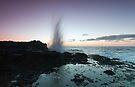 A Morning Sea Spray by Sean Farrow