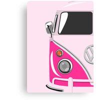 Camper Pink Canvas Print