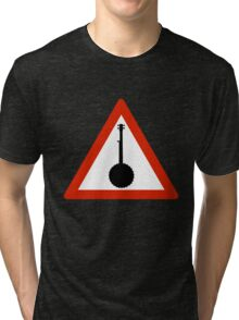 Beware of the Banjo Tri-blend T-Shirt