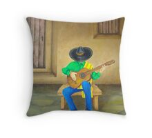 Mexican Serenade Throw Pillow