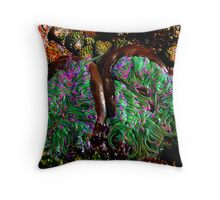 Tide Pool Tentacles Throw Pillow