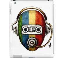 Retro self music iPad Case/Skin