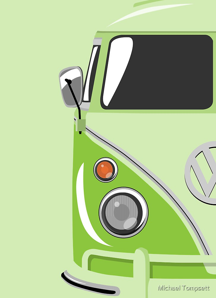 Camper Green by Michael Tompsett