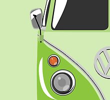 Camper Green by Michael Tompsett