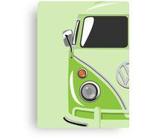 Camper Green Canvas Print