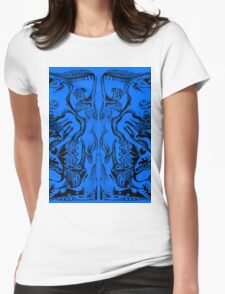 Blue Meaning Womens Fitted T-Shirt