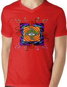 Eyellucinate Mens V-Neck T-Shirt
