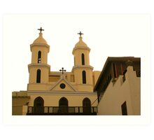 Church of the Virgin Mary Art Print