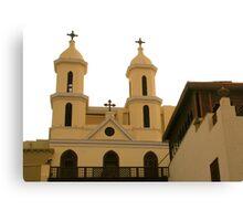 Church of the Virgin Mary Canvas Print