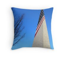 Vietnam Memorial Long Island Throw Pillow