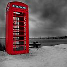 Red phonebox, Kilmuir, Inverness by John Ellis