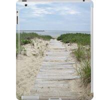 Boardwalk to the beach iPad Case/Skin