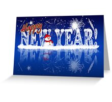 New Year Greeting Card - Happy new year Greeting Card