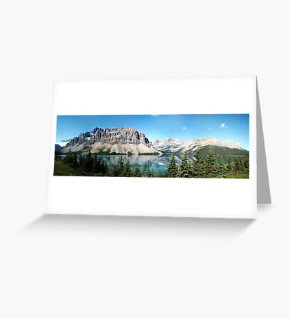 Mountain View Greeting Card