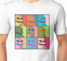 Rare Pop Art Marilyn Monroe Pepe the Frog Unisex T-Shirt