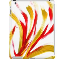 Flame Abstract Painting iPad Case/Skin