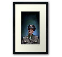 Bucky Barnes Framed Print