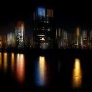 Hamburg at Night by hannes cmarits