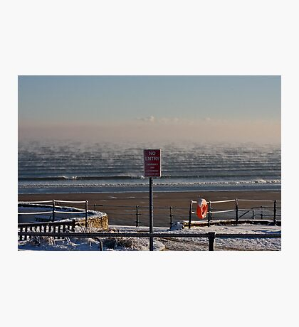 Steam, Sea and Emergency Vehicles only Photographic Print