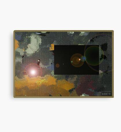 Winter Solstice Eclipse Canvas Print