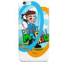 Portal-Mario iPhone Case/Skin