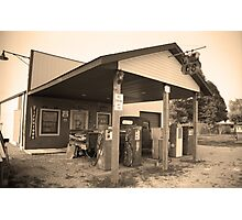 Route 66 - Henry's Rabbit Ranch Photographic Print