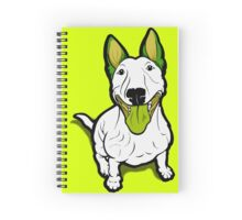Lola Lugs Bull Terrier  Spiral Notebook