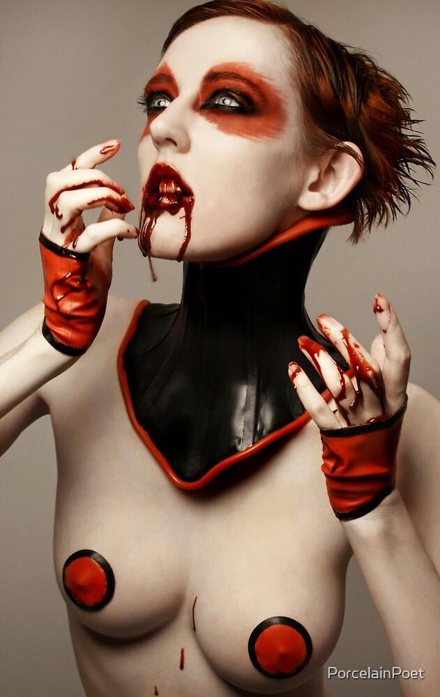 V is for Vampire by PorcelainPoet