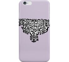 16th-century French ornamental flourish iPhone Case/Skin