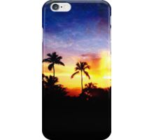 Fire and Ice Sunset  iPhone Case/Skin