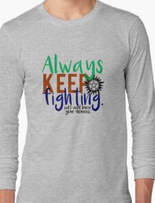 AKF - Text Long Sleeve T-Shirt
