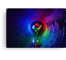 Explosion of Light Canvas Print