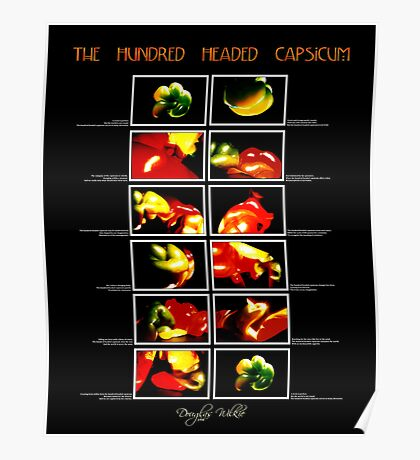 The Hundred Headed Capsicum Poster