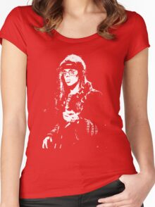Jack Cassidy Jefferson Airplane T-Shirt Women's Fitted Scoop T-Shirt