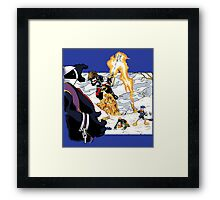 Chrono Hearts  Framed Print