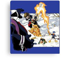 Chrono Hearts  Canvas Print