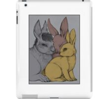 Chief Rabbit and his Guardians iPad Case/Skin