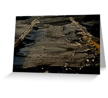 Boat Launch Greeting Card