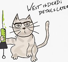 The Re-animator Cat. by Leomeow
