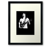 Carlos Santana Band T-Shirt Framed Print