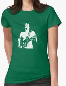 Carlos Santana Band T-Shirt Womens Fitted T-Shirt