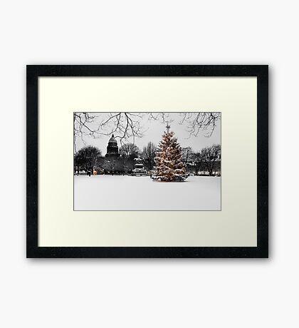 Charlotte Square II Framed Print