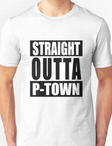 Straight Outta P-town Unisex T-Shirt