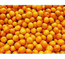 Tangerines... Photographic Print