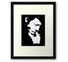 Tom Waits T-Shirt Framed Print