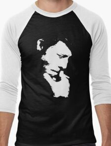 Tom Waits T-Shirt Men's Baseball ¾ T-Shirt