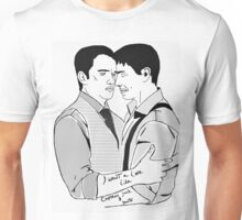 Torchwood's most splendid couple.. Unisex T-Shirt
