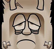 Frankenstein's Monster - Sepia by SquareDog