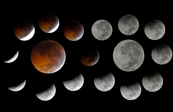 Lunar Eclipse 2010-12-21 by Paul Gitto