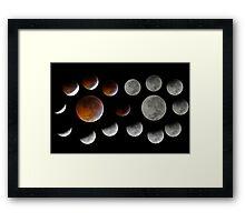 Lunar Eclipse 2010-12-21 Framed Print